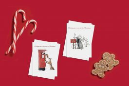 Pack of 4 cards – ¨Come on, stretch a bit more¨ & ¨I´m sure someone will buy them¨