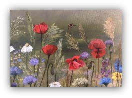 Workshop – Friday 24th September 2021 – Meadow Flowers in oil