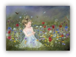 """""""A butterfly wondering where to land, came to rest on a fairy's hand"""""""